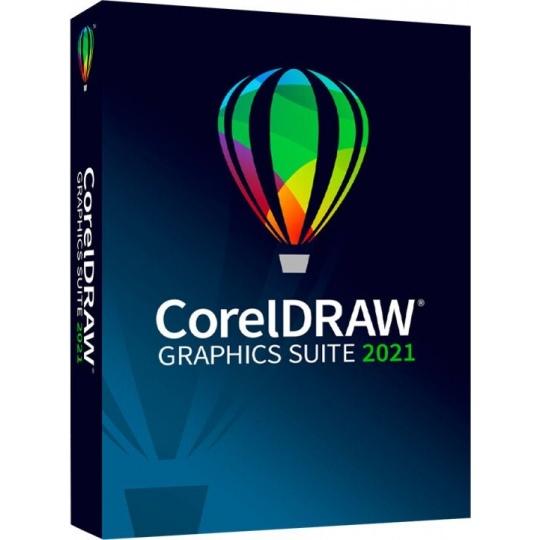 CorelDRAW Graphics Suite 2021 Enterprise License (includes 1Yr CorelSure Maintenance)(51-250) EN/DE/FR/ES/BR/IT/CZ/PL/NL
