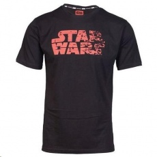 Tričko GLO STAR WARS RED LOGO T-SHIRT L