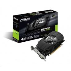 ASUS VGA NVIDIA PH-GTX1050TI-4G, GTX 1050 Ti, 4GB GDDR5, 1xHDMI, 1xDVI