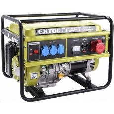 Extol Craft (421011) elektrocentrála benzínová, 13HP/5,5kW (400V) 3x1,8kW (230V)