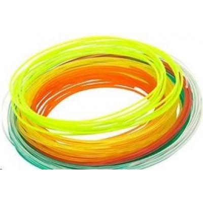 XYZ tisková struna pro 3D pero, PLA (box 12Mx6 kusů různé barvy)