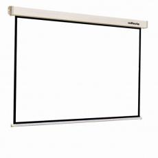 Reflecta ROLLO Crystal Lux (160x160cm, 1:1, 2cm černý okraj) plátno roletové