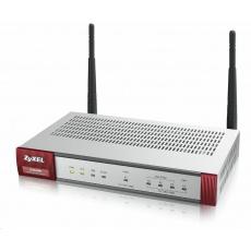 Zyxel ZyWALL USG40W Wireless Security Firewall, 4x gigabit RJ45 (3x LAN/DMZ, 1x WAN), 1xUSB, SSL, 10x IPSec VPN, fanless