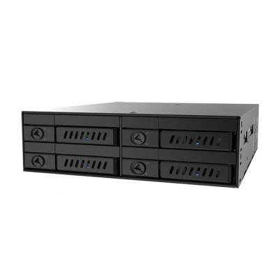 """CHIEFTEC SATA Backplane CMR-425, 1x 5,25"""" bay for 4x 2,5"""" HDDs/SDDs"""