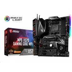 MSI MB Sc AM4 MPG X570 GAMING EDGE WI-FI, AMD X570, 4xDDR4, VGA, Wi-Fi