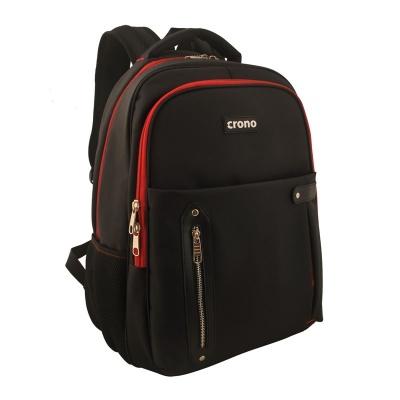 "CRONO batoh na notebook Dakota15,6"", černý/ červený"