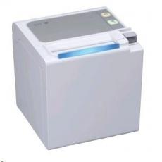 Seiko pokladní tiskárna RP-E10, řezačka, Horní výstup, USB, bílá