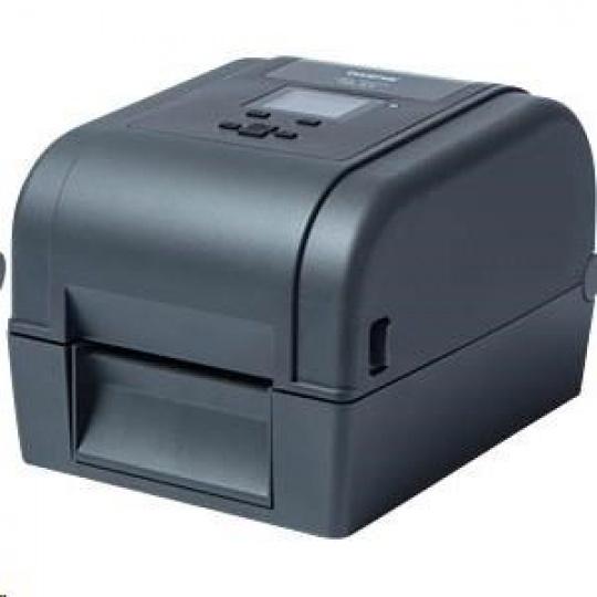 BROTHER tiskárna štítků TD-4650TNWBR (tisk štítků, 203 dpi, max šířka štítků 112 mm) USB,LAN,WiFi,Bluetooth,RS-232C+RFID