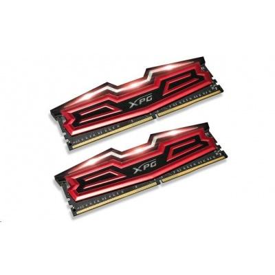 DIMM DDR4 32GB 3000MHz CL16 (KIT 2x16GB) ADATA XPG Dazzle, Red/Black