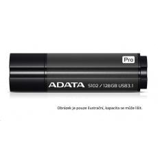 ADATA Flash Disk 32GB Superior S102 Pro, USB 3.1, hliník, šedá (R:100/W:50 MB/s)