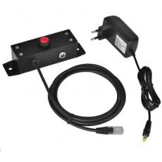 Virtuos tlačítko pro otevírání pokladních zásuvek Virtuos 12V, kovové s kabelem