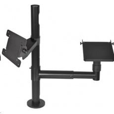 Virtuos Pole – Sestava - stojan s ramenem, držáky VESA a tiskárny