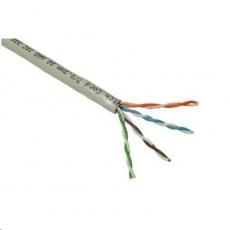 UTP kabel PlanetElite, Cat5E, drát, PVC, Dca, šedý, 305m