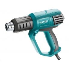 Extol Industrial  pistole horkovzdušná s plynulou regulací teploty a proudu vzduchu, 2000W 8794800