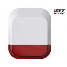 iGET SECURITY EP11 - Bezdrátová venkovní siréna pro alarm iGET SECURITY M5