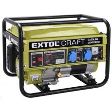 Extol Craft (421000) elektrocentrála benzínová, 6,5HP/2,8kW