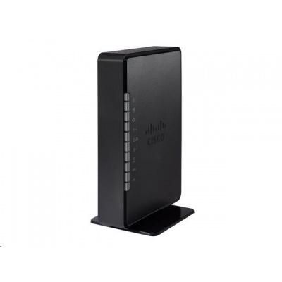 Cisco RV132W VPN router, 3x 10/100 LAN, 1x 10/100 WAN, ADSL2+, 2,4 GHz WiFi, USB