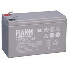 Baterie - Fiamm 12 FGHL 34 (12V/9,0Ah - Faston 250), životnost 10let
