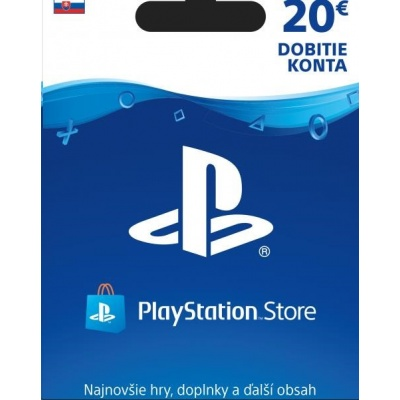 SONY PlayStation Live Cards Hang 20,- EUR