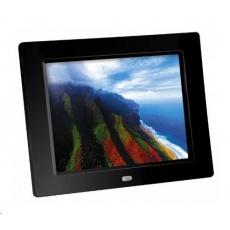 """Braun LCD fotorám DigiFRAME 82 (8"""", 1024x768px, 4:3 LED, slot SD, černý)"""