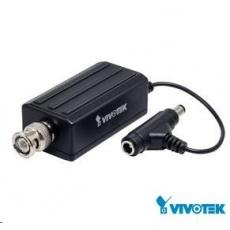 Vivotek videoserver VS8100, 1xBNC vstup max. 720x576 až 25sn/s, MJPEG, H.264