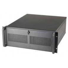 CHIEFTEC skříň Rackmount 4U ATX, UNC-410B-42R, 2x420W, Black