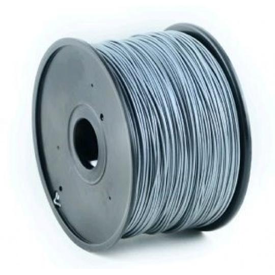 GEMBIRD Tisková struna (filament) ABS, 1,75mm, 1kg, stříbrná