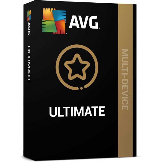 _Nová AVG Ultimate (Multi-Device, max. 10 připojených PC ) na 1 rok ESD
