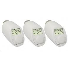 eqiva N Programovatelná termostatická hlavice  5 až 29.5 °C, sada 3 ks