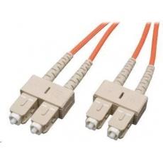 Duplexní patch kabel MM 62,5/125 OM1, SC-SC, LS0H, 2m