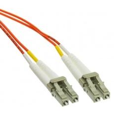 Duplexní patch kabel MM 62,5/125 OM1, LC-LC, LS0H, 2m